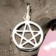 Anhänger Pentagramm 15 mm