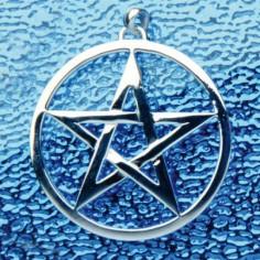 Anhänger Pentagramm 50 mm