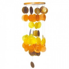 Capiz Muschel-Mobile braun-orange