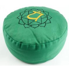 Chakra Meditationskissen Herzchakra grün