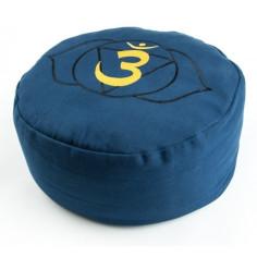 Chakra Meditationskissen Stirnchakra blau