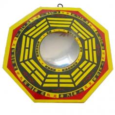 Chinesischer BaGua Spiegel Konkave 15 cm