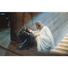 Gebetskärtchen Der Tröster