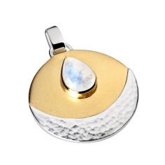INTUITION - SilbermondSymbolschmuck Anhänger