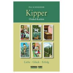 Kipper - Orakelkarten Set - Liebe, Glück, Erfolg
