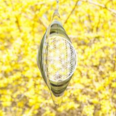 Mobile Blume des Lebens Windspiel Ø 25 cm