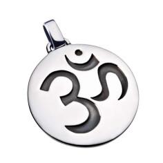 OM - Silber teilgeschwärztSymbolschmuck Anhänger