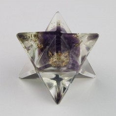 Amethyst 21mm Orgon Merkaba