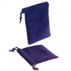Samtbeutel in Marineblau 9,5 x 11,5 cm