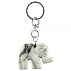 Schlüsselanhänger Elefant Magnesit
