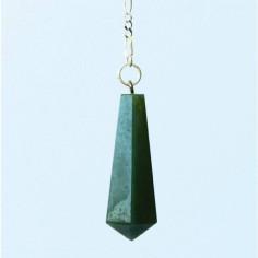 Stabpendel Sechskant 304 Jade grün
