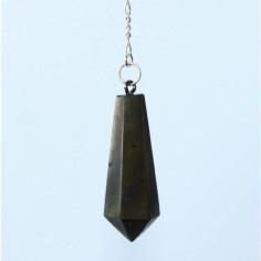Stabpendel Sechskant 304 Pyrit