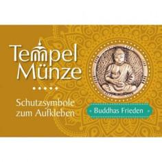 Tempelmünze - Buddhas Frieden