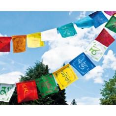Tibetische Gebetsfahne