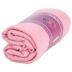 Yoga Handtuch rutschfest mit Silikonnoppen rosa