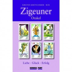 Zigeuner Orakel Set - Liebe, Glück, Erfolg - Kirsten Kretschmer / ROE Buchholzer