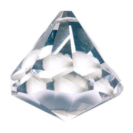 Prisma-Kegel bleifrei Diamantschliff Regenbogenkristall