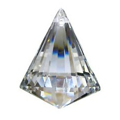 Prisma-Kegel bleifrei Regenbogenkristall