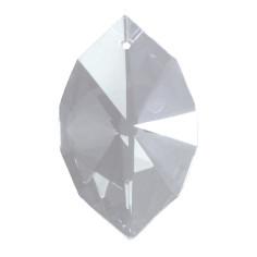 Mandel Vesica bleifrei 50mm Regenbogenkristall