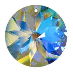 Rondellen Rivoli AB bleifrei 40mm Regenbogenkristall