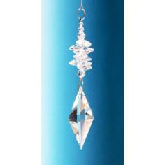 Regenbogenkristall Cascade klar Pendulum