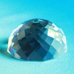 Halb-Kugel Rauten Glaskristall