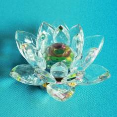 Lotus Glaskristall