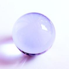 Kristallglaskugel lila 16mm-150mm