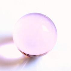 Kristallglaskugel rosa 30mm -100mm