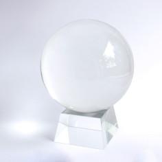 Glas konisch Kristallugelhalter