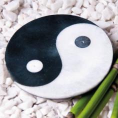 Ying-Yang Specksteinräucherhalter