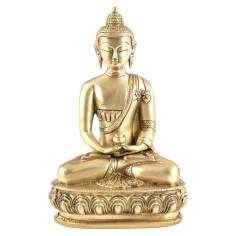 Amithaba 20 cm Messing Buddha