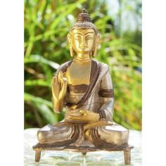 Kanakamuni 13cm Messing Buddha
