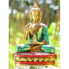 Kanakamuni 11,5cm Messing Buddha