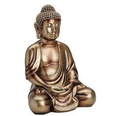 Buddha 36 cm Polyresin gold