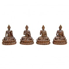 Thai-Buddha 11cm Polyresin 4er Set