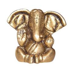 Ganesha 3cm Messing