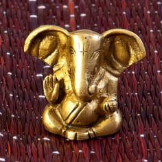 Ganesha 4cm Messing
