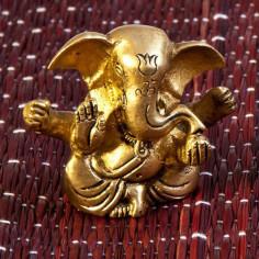 Ganesha 6cm Messing
