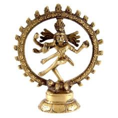 Shiva Nataraj 10,5cm Messing