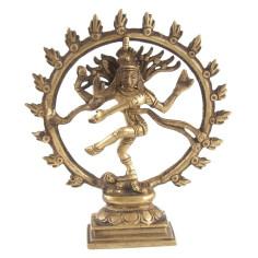Shiva Nataraj 16,5cm Messing