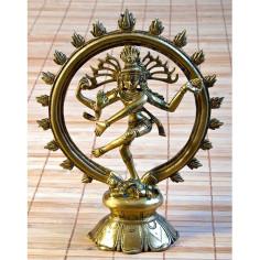 Shiva Nataraj 24cm Messing