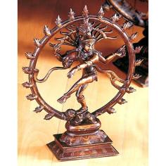 Shiva Nataraj 28cm Messing