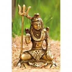 Shiva Statue 6cm Messing