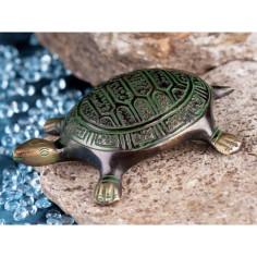 Schildkröte 10,5cm Messing