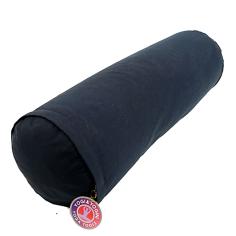 Yoga Bolster rund - dunkelblau