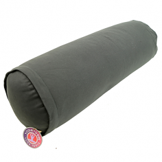 Yoga Bolster rund - anthrazit