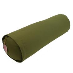 Yoga Bolster rund - oliv