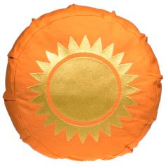Sonne Meditationskissen für Kinder gelb