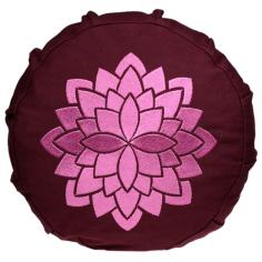 Lotus Meditationskissen für Kinder gelb